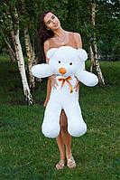 Плюшевый мишка Тедди 100 см Белый