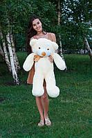 Мягкая игрушка: медведь Тедди 100 см Кремовый