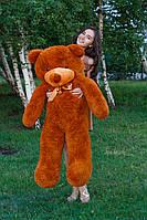 Плюшевый медведь Тедди 140 см Коричневый