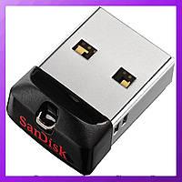 SanDisk Cruzer Fit 32GB USB flash mini для автомагнитолы, флешка