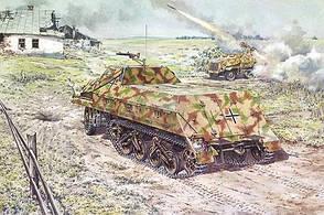 Модель полугусеничного тягача Sd. Kfz. 4/11 Panzerwerfer 42. 1/72 RODEN 722