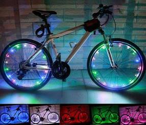 Підсвічування коліс велосипеда