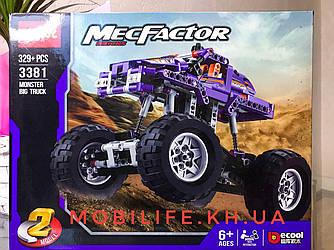 Конструктор Техник (Technic) 2в1 Фиолетовый Monster Track/329 деталей/Высокое качество/