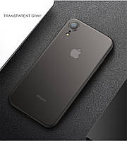 Тонкий матовый чехол PP для iPhone XR ультратонкий пластиковый