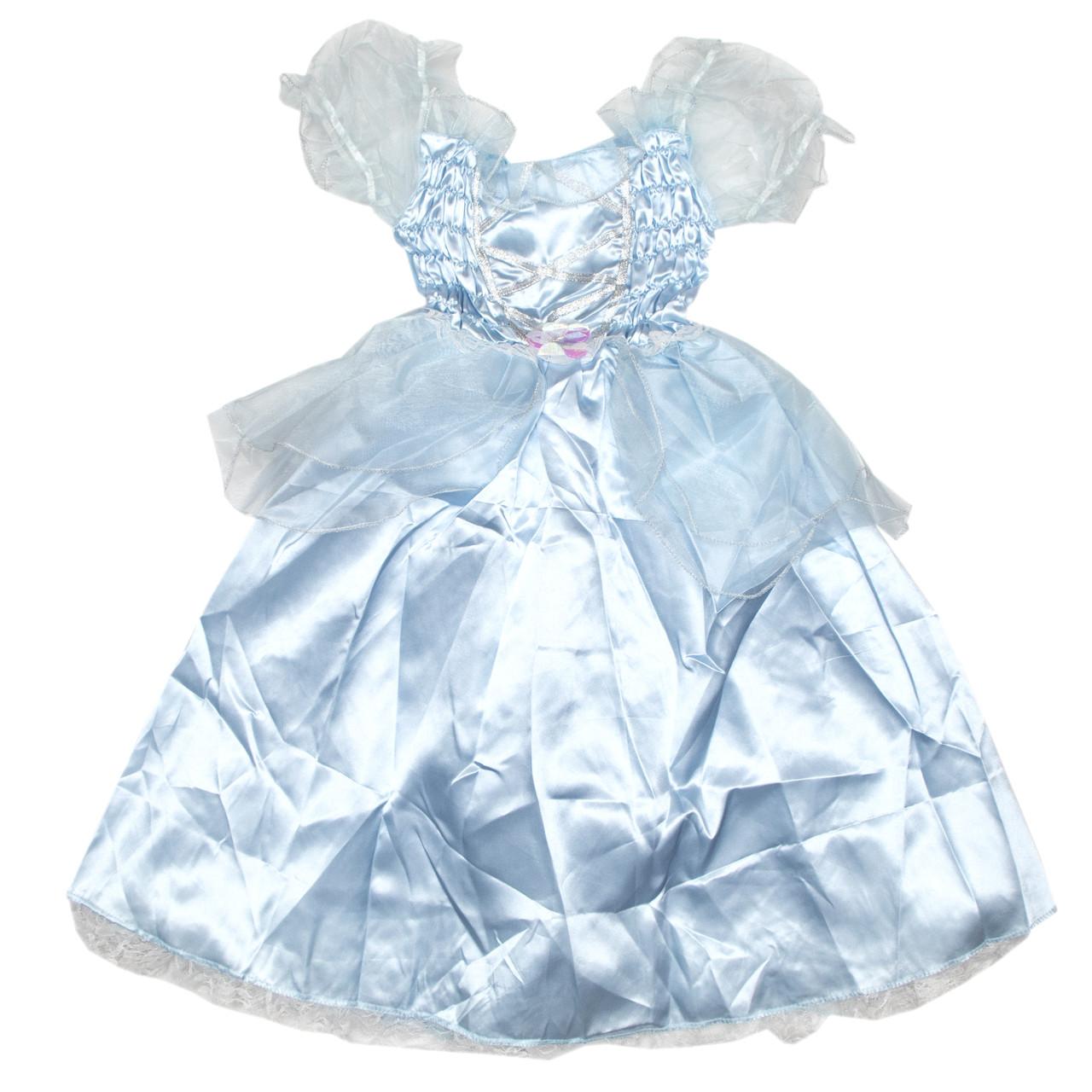 Платье карнавальное, голубое, 4 (4 года - 102 см) (460885-2)