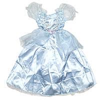 Платье карнавальное, голубое, 4 (4 года - 102 см) (460885-2), фото 1