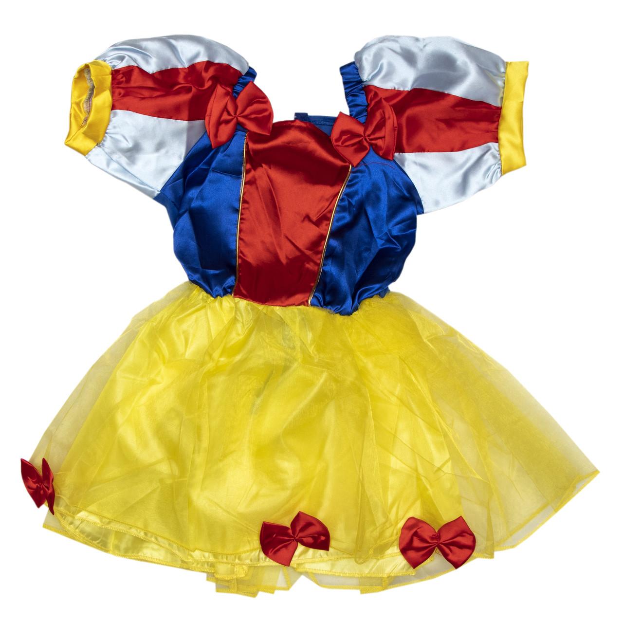 Карнавальный костюм Белоснежка 8 (8 лет-126см), арт. 460908-3