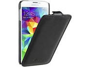 Jacka leather case for Samsung i9600 Galaxy S5, black (SSGLS5LCJT1BKPULC) Melkco чехол книжка флип