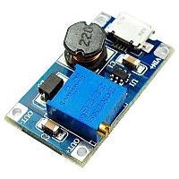 MT3608 з microUSB перетворювач DC-DC підвищувальний - Розпродаж