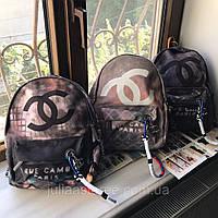 Женский рюкзак Chanel Graffiti Шанель Граффити реплика