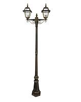 Уличный светильник фонарь Faro I 21361 старое золото