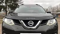 Дефлектор капота (мухобойка) Nissan X-Trail + Rogue T32 2014-2020, Vip Tuning, NS58