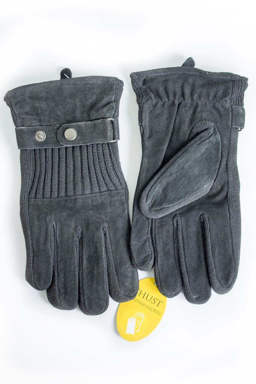 Мужские замшевые перчатки Shust Gloves Средние SG-160135s2