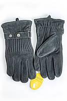 Мужские замшевые перчатки Shust Gloves Средние SG-160135s2, фото 1