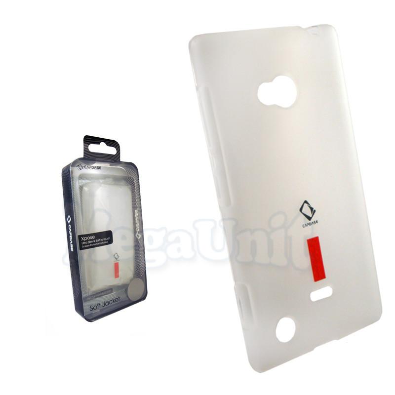 Capdase Силиконовый чехол (+пленка) для Nokia 720 Lumia