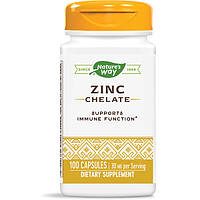 Цинк Nature's Way  ZINC Chelate30 mg 100 капсул