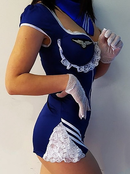 ролевые игры костюм бортпроводницы, чашка пуш-ап