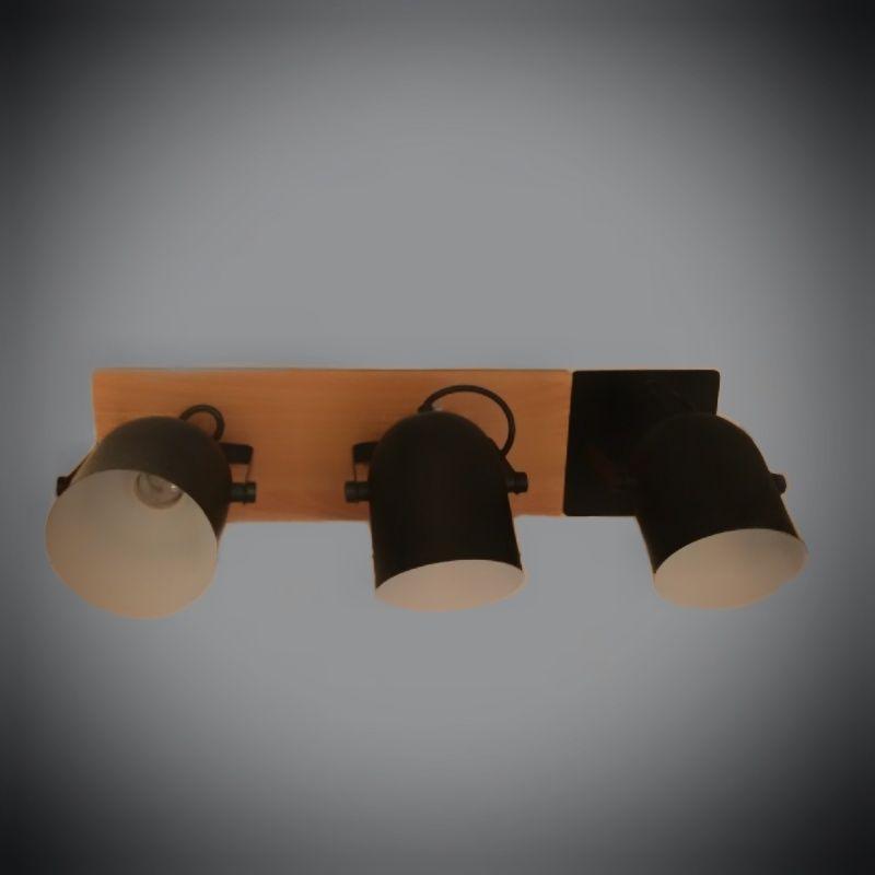 Люстра потолочная на 3 лампы 06-8661/3 BK+BR
