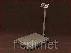 Платформенные  весы TCS-K4 Олимп (600 кг).  800х600 мм.