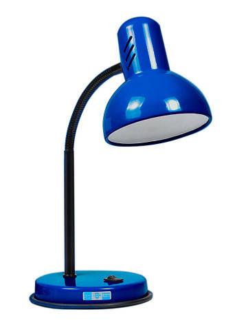 Лампа настольная LOGA L-7 Василек синий, фото 2