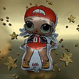 Фольгированный шар Flexmetal Кукла LOL Сваг, 86 см 1787, фото 2