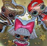Фольгированный шар Flexmetal Кукла LOL Сваг, 86 см 1787, фото 3