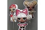 Фольгированный шар Flexmetal Кукла LOL Сваг, 86 см 1787, фото 4