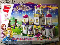 Огромный Конструктор для Девочек Friends Замок для Принцессы/587 деталей/