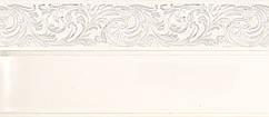 Лента декоративная, Бленда Ажур 4 Хром на потолочный карниз КСМ 70 мм, усиленный потолочный карниз