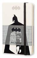 Блокнот Moleskine Batman маленький белый (линейка)