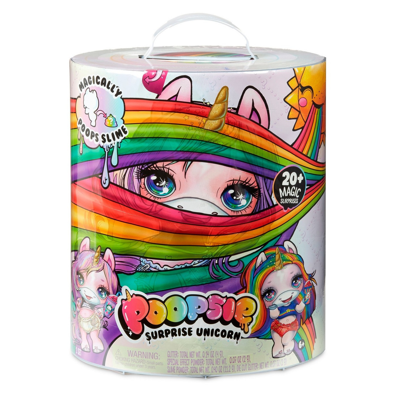 Оригинал MGA   Poopsie Slime Unicorn Surprise - Единорог (с золотым рогом)   555964