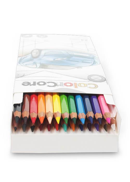 Карандаши цветные Marco ColorCore 24 цвета 3100-24CB