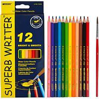 Карандаши цветные Marco Superb Writer 12 цветов 4120-12CB