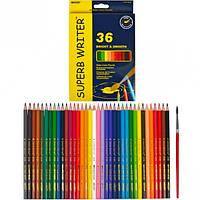 Карандаши цветные Marco Superb Writer 36 цветов 4120-36CB