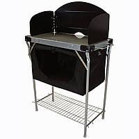 Складная кухня для кемпинга походная Highlander Steel Kitchen Stand With Cupboard