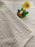 Белое полотенце  для ног, Турция
