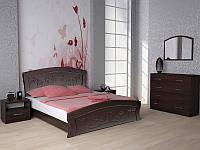 Кровать Эмилия двуспальная с ортопедическими ламелями