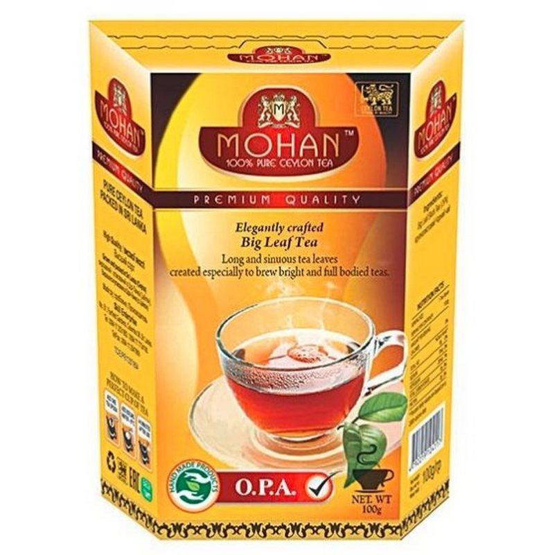 Чай черный крупнолистовой OPA Mohan 100 гр