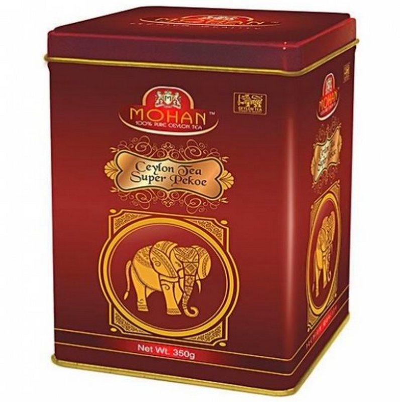 Чай в железной коробке Super Pekoe Mohan 350 гр
