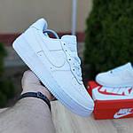 Мужские кроссовки Nike Air Force (белые) 10097, фото 3