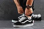 Мужские кроссовки Vans (черно-белые) 9264, фото 5