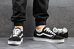 Мужские кроссовки Vans (черно-белые) 9264, фото 6