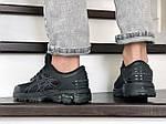 Мужские кроссовки Asics Gel-Kayano 25 (черные) 9260, фото 4