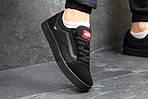 Мужские кроссовки Vans (черные) 9265, фото 2