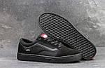 Мужские кроссовки Vans (черные) 9265, фото 3