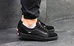 Мужские кроссовки Vans (черные) 9265, фото 5