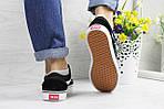 Жіночі кросівки Vans (чорно-білі) 9269, фото 3