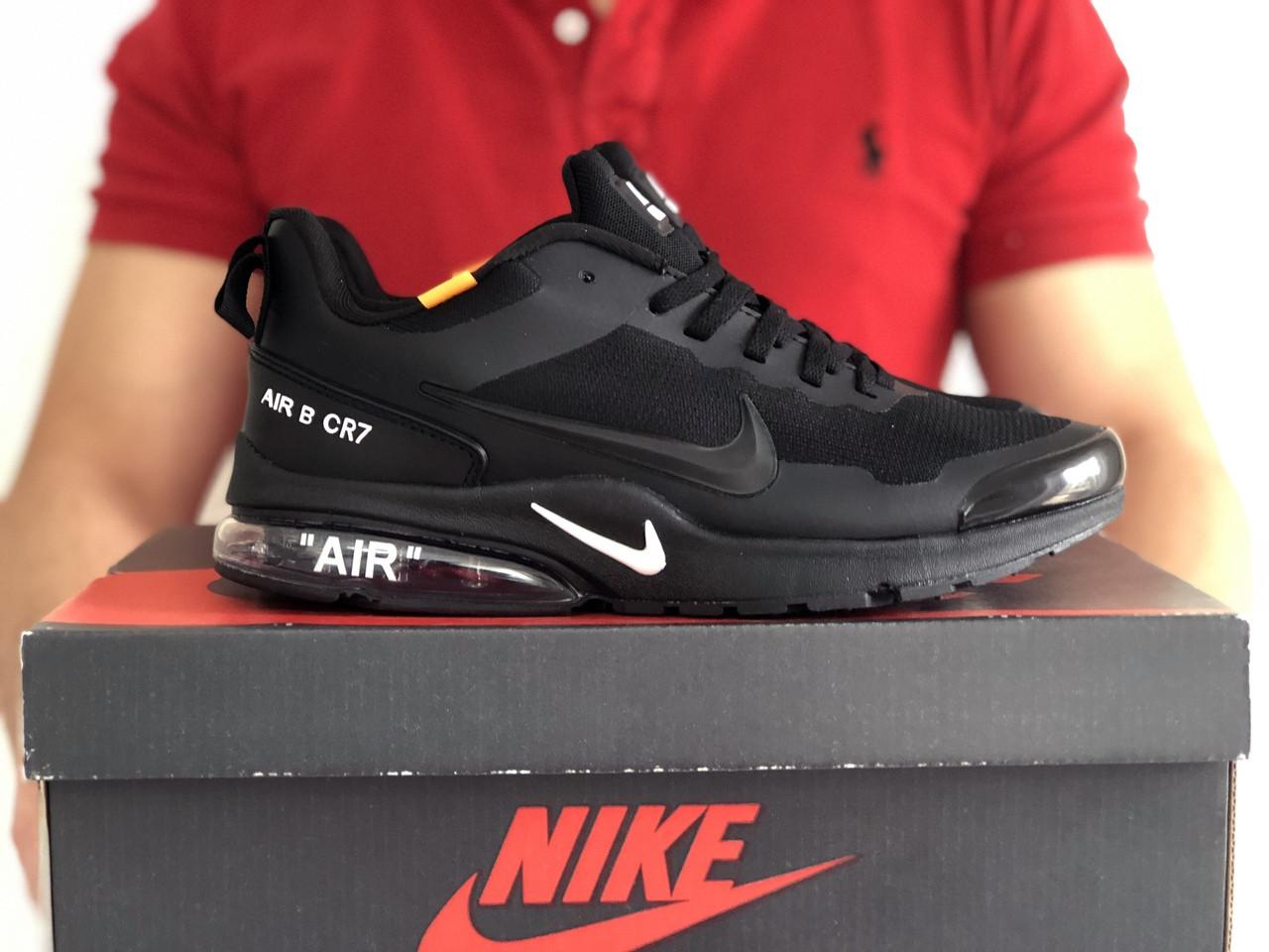 Мужские кроссовки Nike Air Presto CR7 (черные) 9272
