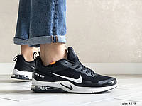 Мужские кроссовки Nike Air Presto CR7 (черно-белые) 9273