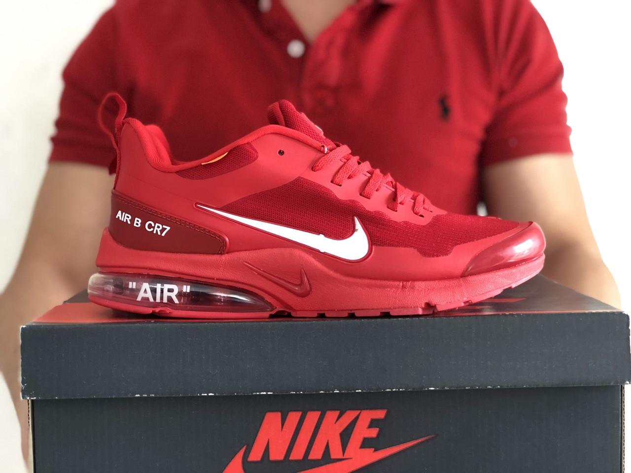 Мужские кроссовки Nike Air Presto CR7 (красные) 9275